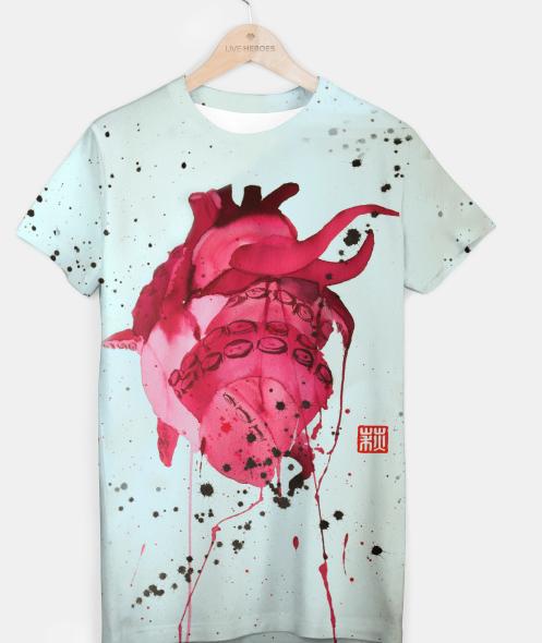 corazon anatómico – Origami Clover